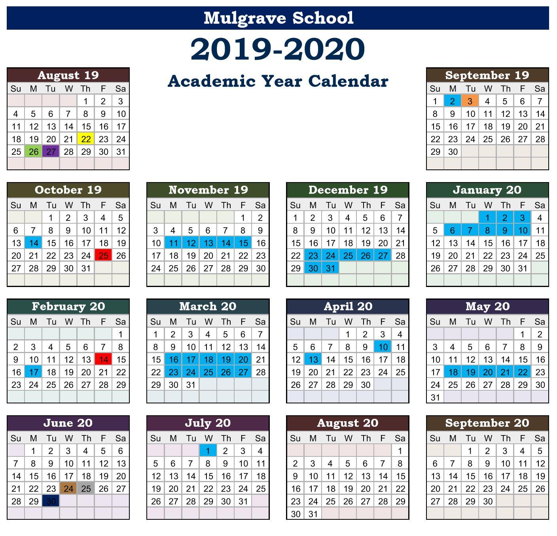 3317fd56b00 Mulgrave School - Calendars
