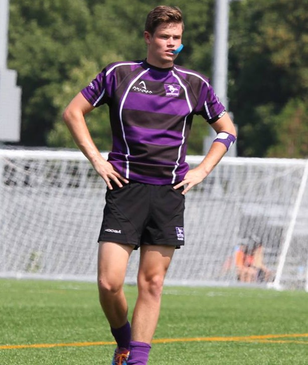 rugby player Kevin Catliff